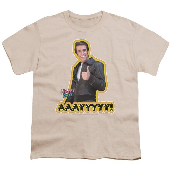 Happy Days Aaayyyyy Short Sleeve Youth T-Shirt