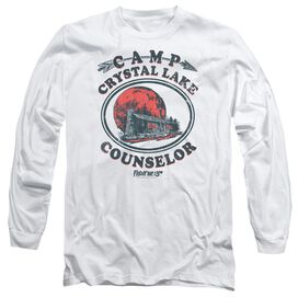 Friday The 13 Th Camp Counselor Long Sleeve Adult T-Shirt