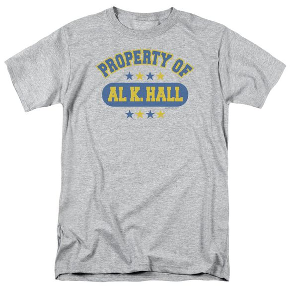 Property Of Al K. Hall Short Sleeve Adult Athletic T-Shirt