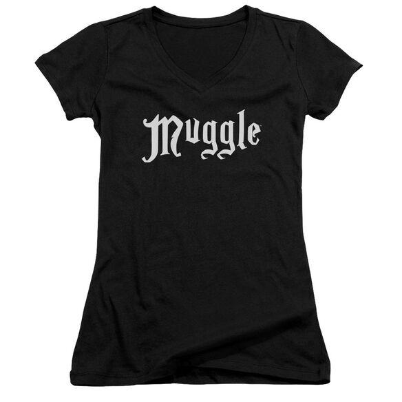 Harry Potter Muggle Junior V Neck T-Shirt