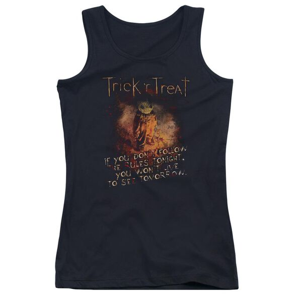 Trick R Treat Rules Juniors Tank Top