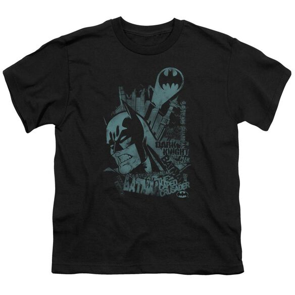 Batman Gritted Teeth Short Sleeve Youth T-Shirt