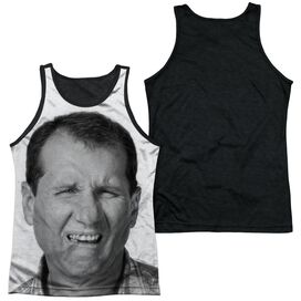 Married With Children Al Bundy Adult Poly Tank Top Black Back