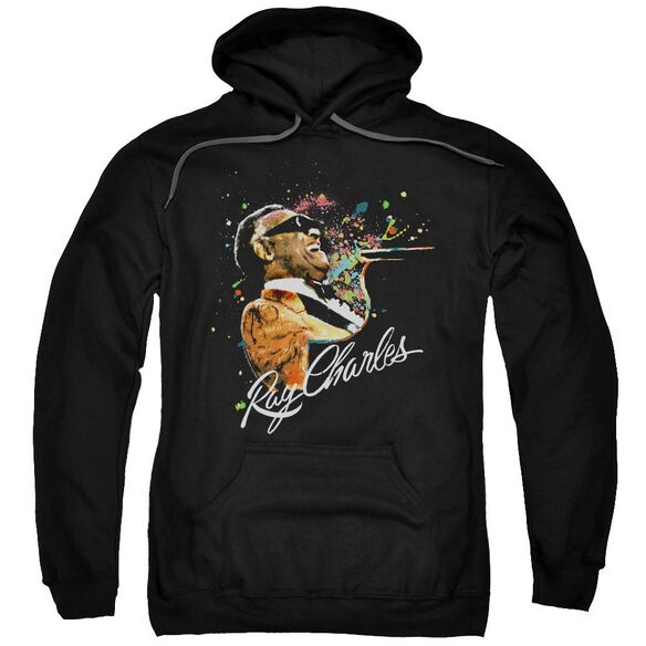 Ray Charles Soul Adult Pull Over Hoodie