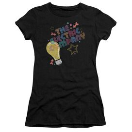 Electric Company Electric Light Short Sleeve Junior Sheer T-Shirt