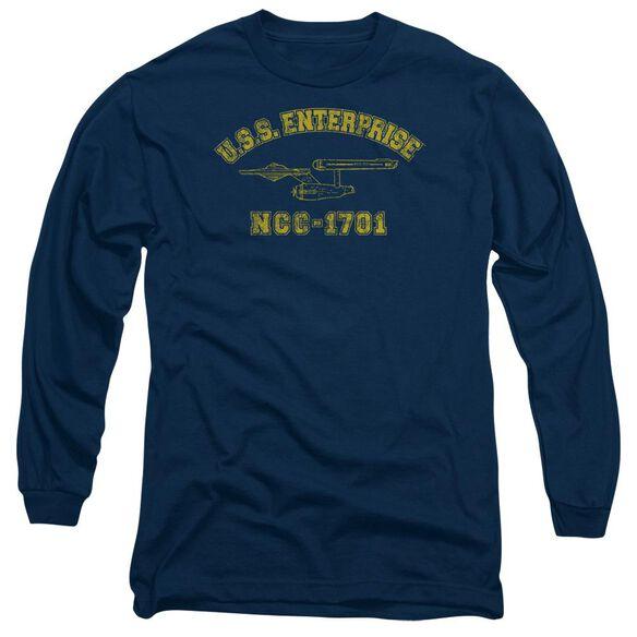 Star Trek Enterprise Athletic Long Sleeve Adult T-Shirt