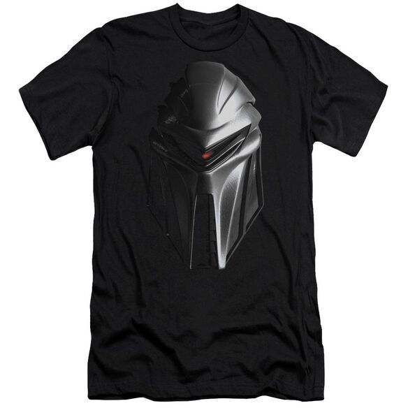 BSG CYLON HEAD - S/S ADULT 30/1 - BLACK T-Shirt