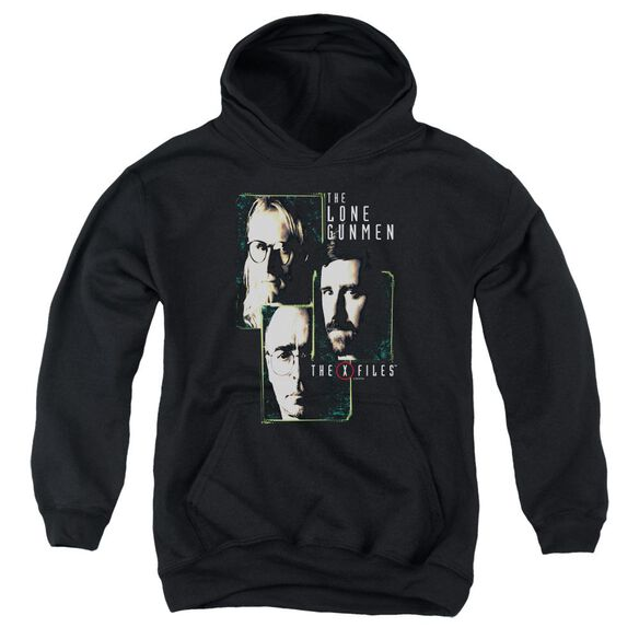 X Files Lone Gunmen Youth Pull Over Hoodie