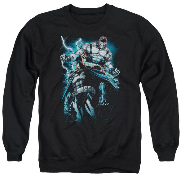 Batman Evil Rising Adult Crewneck Sweatshirt