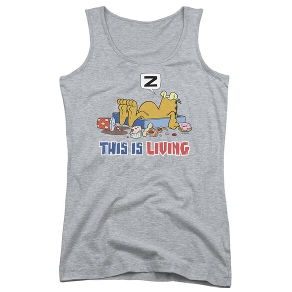 Garfield This Is Living Juniors Tank Top Athletic
