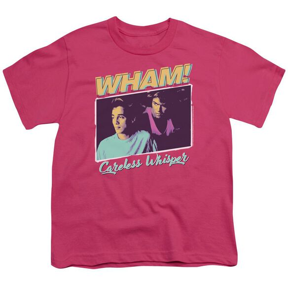 Wham Careless Whisper Short Sleeve Youth Hot T-Shirt