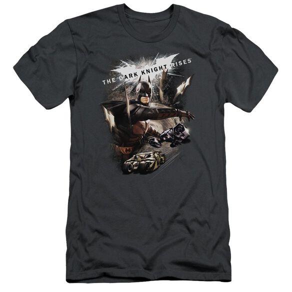 Dark Knight Rises Imagine The Fire Short Sleeve Adult T-Shirt