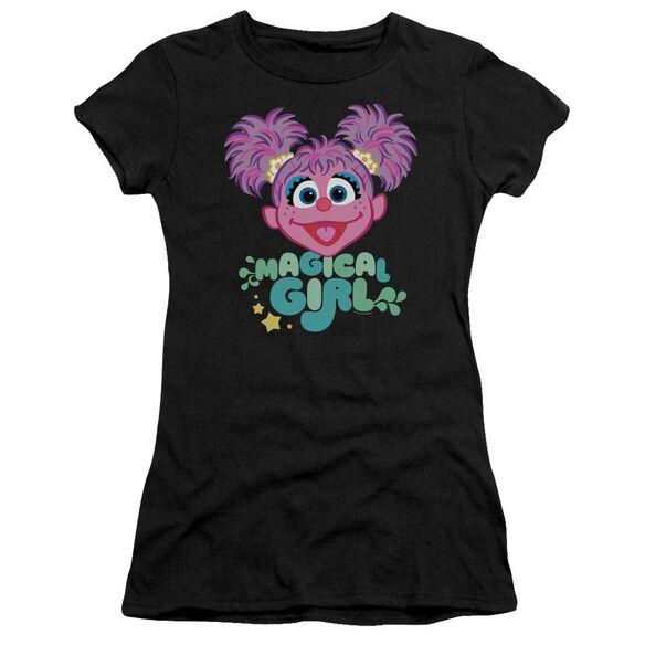 Sesame Street Scribble Head Premium Bella Junior Sheer Jersey