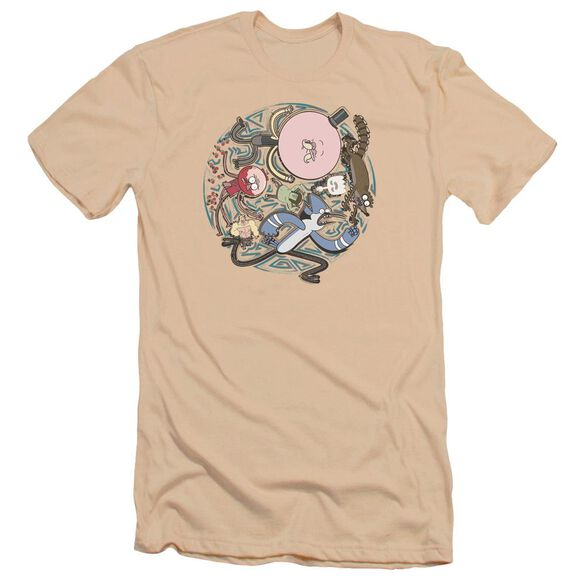 Regular Show Strange Circle Hbo Short Sleeve Adult T-Shirt