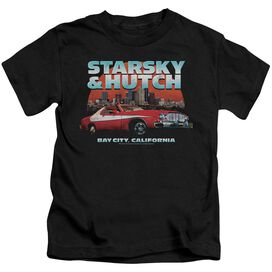 Starsky And Hutch Bay City Short Sleeve Juvenile T-Shirt