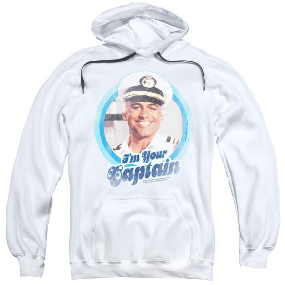 Love Boat I'm Your Captain Adult Pull Over Hoodie