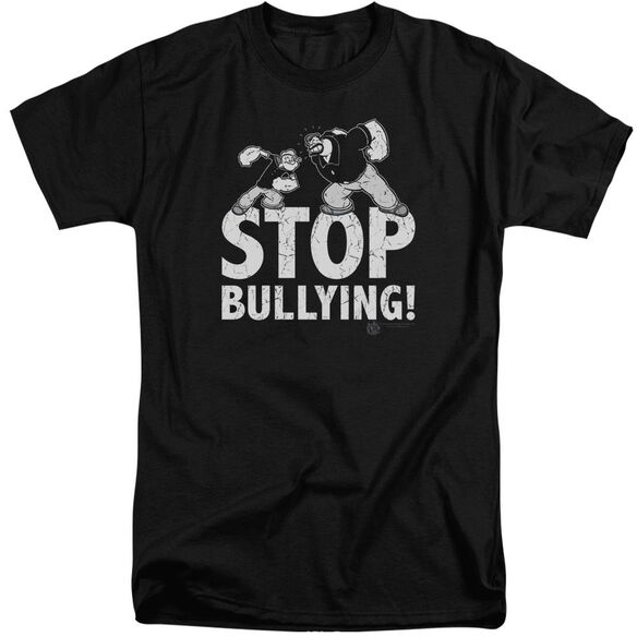 Popeye Stop Bullying Short Sleeve Adult Tall T-Shirt