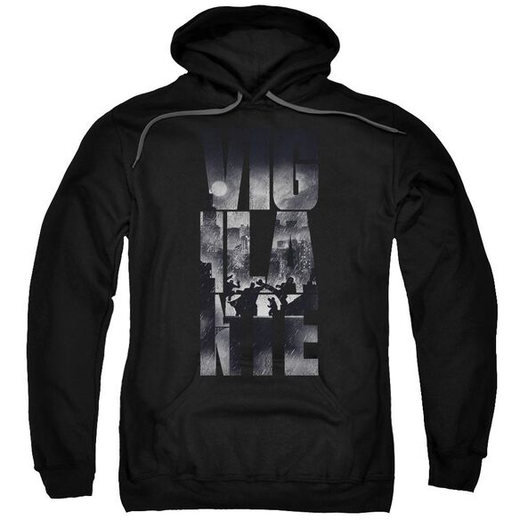 Batman V Superman Rainy Viglante Adult Pull Over Hoodie