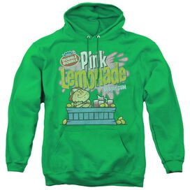 Dubble Bubble Pink Lemonade - Adult Pull-over Hoodie - Kelly Green