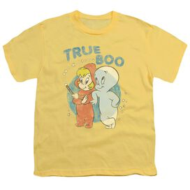Casper True Boo Short Sleeve Youth T-Shirt