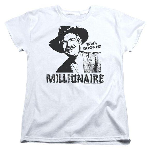 Beverly Hillbillies Millionaire Short Sleeve Womens Tee T-Shirt