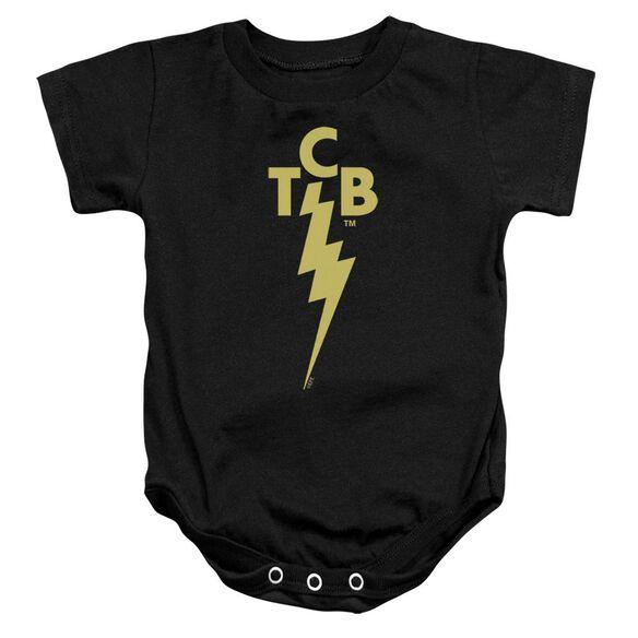 Elvis Tcb Logo Infant Snapsuit Black Md