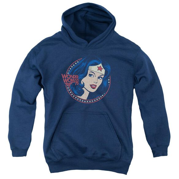 Dc Ww75 Starburst Portrait Youth Pull Over Hoodie