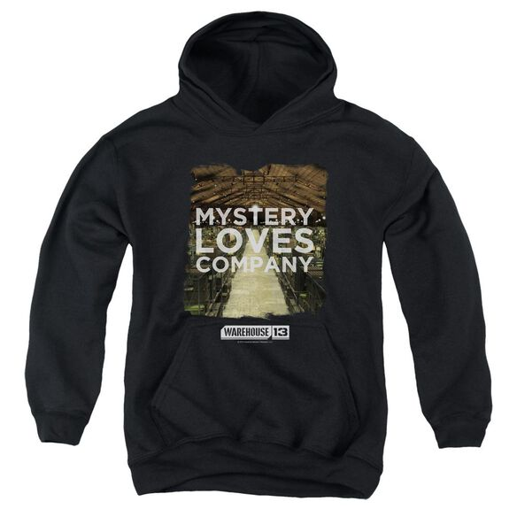 Warehouse 13 Mystery Loves Youth Pull Over Hoodie