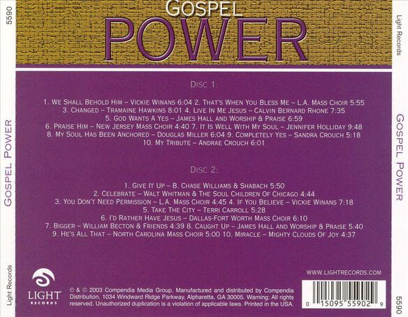 Gospel Power 0803