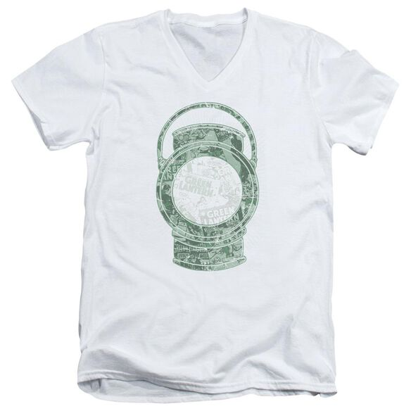Dc Lantern Cover Short Sleeve Adult V Neck T-Shirt