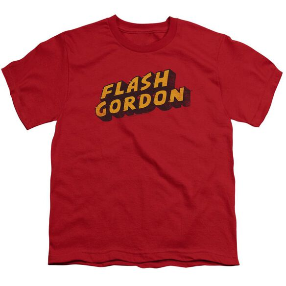 Flash Gordon Logo Short Sleeve Youth T-Shirt