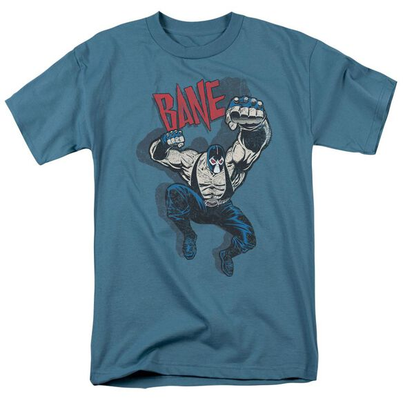 BATMAN BANE VINTAGE - S/S ADULT 18/1 - SLATE T-Shirt
