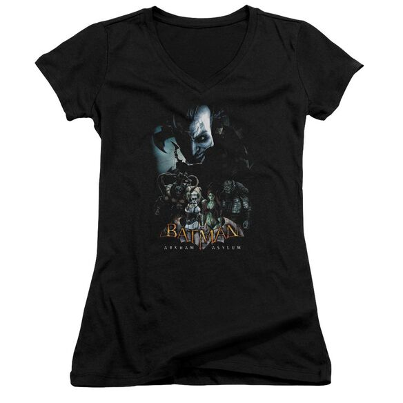 Batman Aa Five Against One Junior V Neck T-Shirt