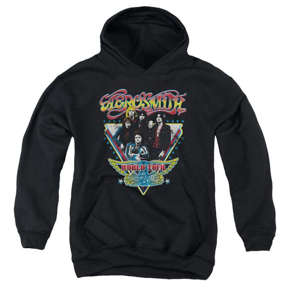 Aerosmith Triangle Stars Youth Pull Over Hoodie