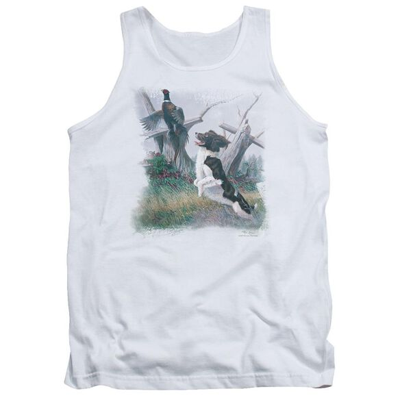 Wildlife Springer With Pheasant Adult Tank