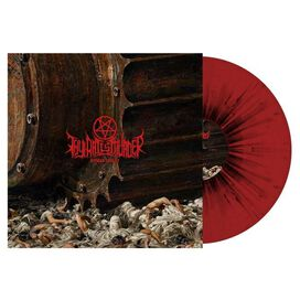 Thy Art Is Murder - Human Target [Exclusive Red With Black Splatter Vinyl]