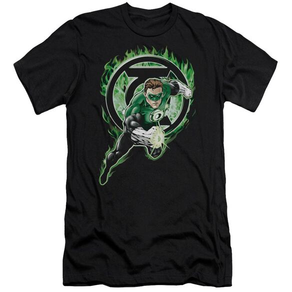 Green Lantern Space Cop Short Sleeve Adult T-Shirt
