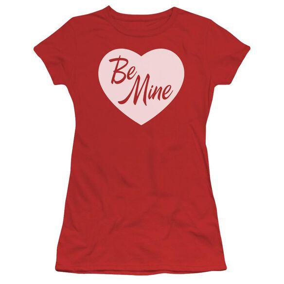 Be Mine Short Sleeve Junior Sheer T-Shirt