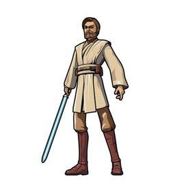 Star Wars - Clone Wars Obi-Wan Kenobi FiGPiN