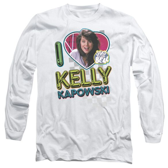 Saved By The Bell I Love Kelly Long Sleeve Adult T-Shirt