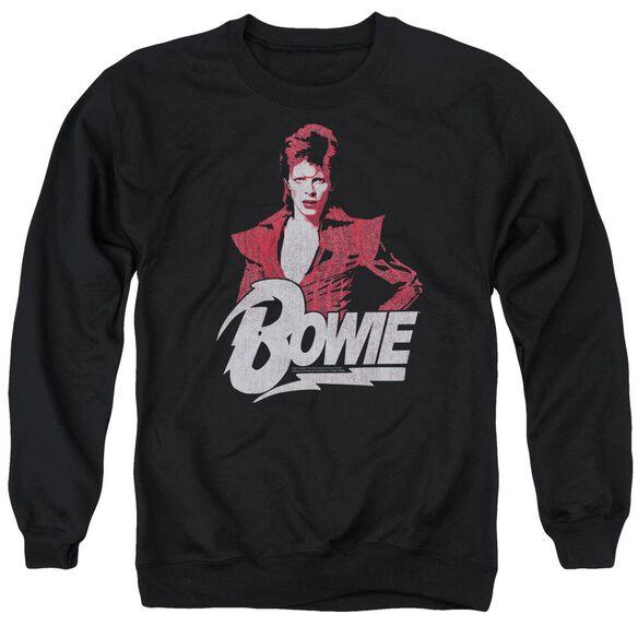 David Bowie Diamond David Adult Crewneck Sweatshirt