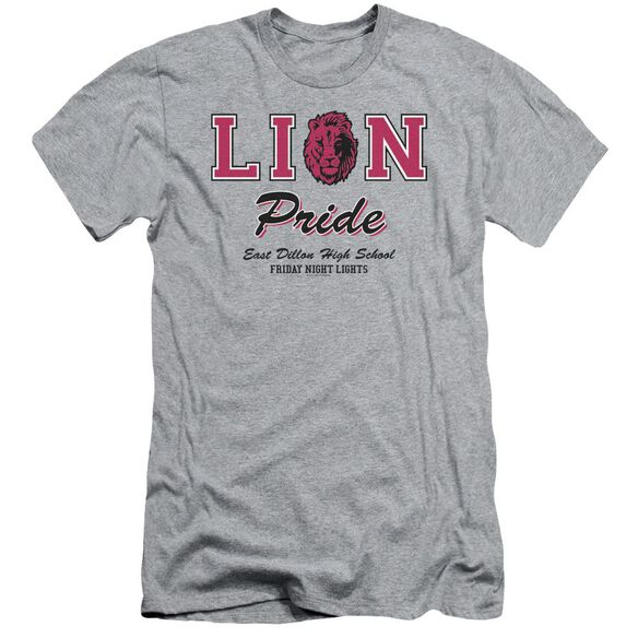 Friday Night Lights Lions Pride Short Sleeve Adult Athletic T-Shirt