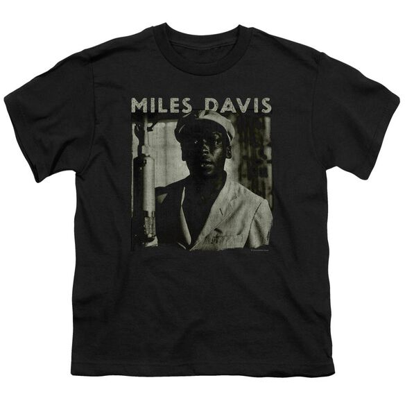Miles Davis Miles Portrait Short Sleeve Youth T-Shirt