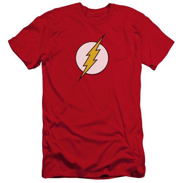 Dc Flash Flash Logo Premuim Canvas Adult Slim Fit
