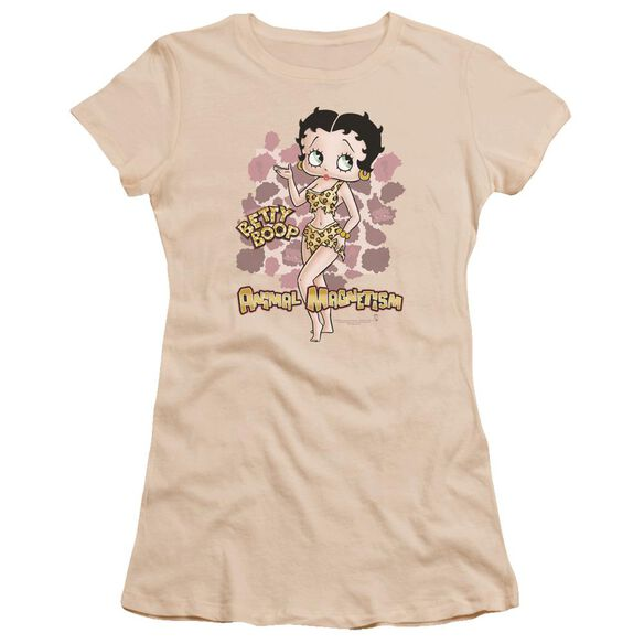 Betty Boop Animal Magnetism Premium Bella Junior Sheer Jersey
