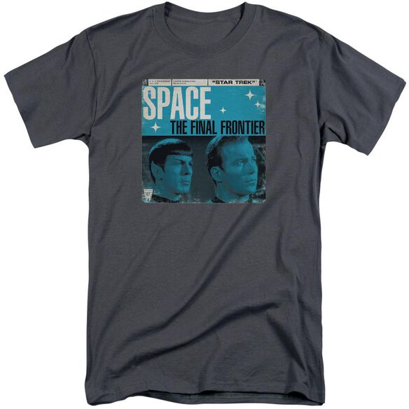 Star Trek Final Frontier Cover Short Sleeve Adult Tall T-Shirt