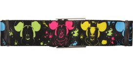 Mickey Mouse Mood Paint Seatbelt Belt
