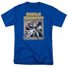 Atari Missle Commander Short Sleeve Adult Royal T-Shirt