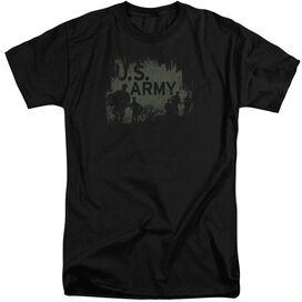 Army Soilders Short Sleeve Adult Tall T-Shirt