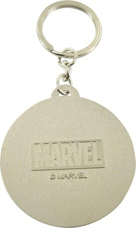 Captain America Shield Metal Keychain